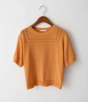 mello crop scashi summer knit[니트BKJ34] 3color_free size안나앤모드