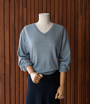 lony v neck basic knit[니트BME25] 6color_free size안나앤모드
