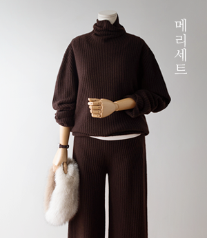 merry wholega wool knit set[니트BDT27] 3color_free size안나앤모드