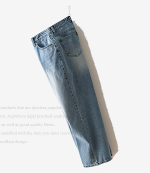 rudin wide wrinkle denim pt[데님BFX30] one color_3size안나앤모드