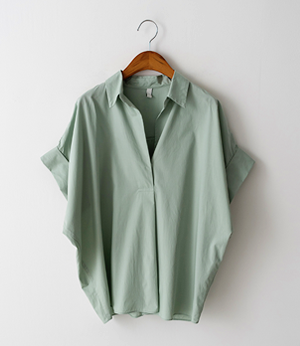 cavin tencel roll-up shirt[셔츠BLY65] 3color_free size안나앤모드