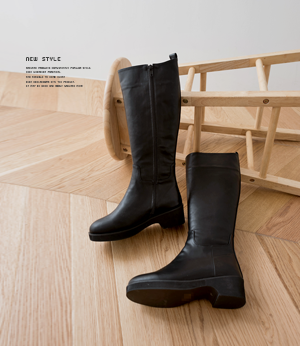 moco fur long boots[슈즈BCR82] one color_6size안나앤모드