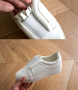 shirring banding leather sneakers[슈즈BCT17] 2color_5size안나앤모드