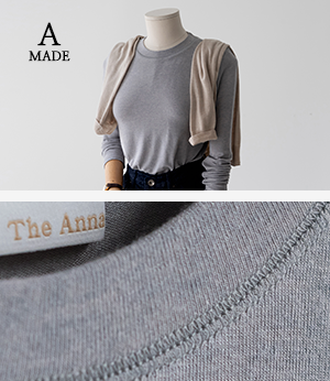 the anna cloy wool t[티셔츠BML15] 4color_free size안나앤모드